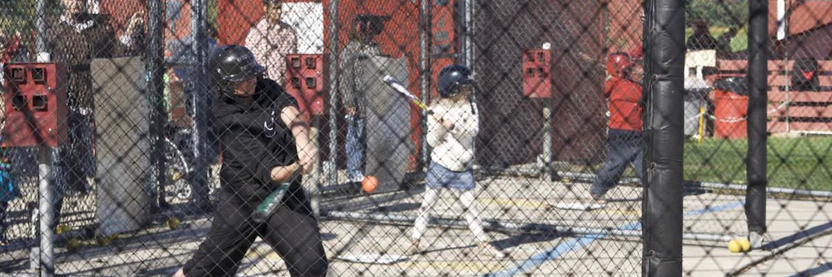 1996 - Batting Cages at Udders & Putters