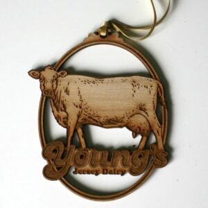 Wooden Young's Ornament